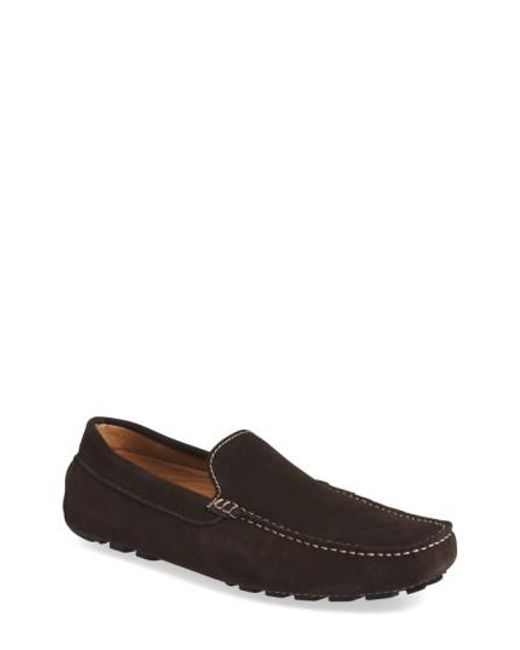 Zanzara | Black 'picasso' Slip-on Driver for Men | Lyst