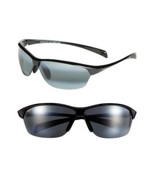 Maui Jim   Black 'hot Sands - Polarizedplus2' 71mm Sunglasses for Men   Lyst