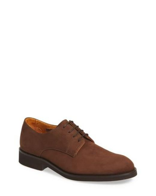 Vince Camuto | Brown 'apexx' Nubuck Derby for Men | Lyst