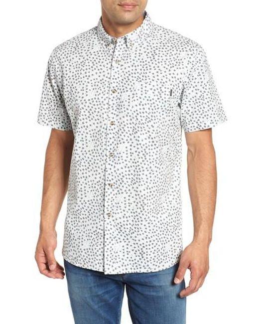 Rip Curl - White El Mirador Woven Shirt for Men - Lyst