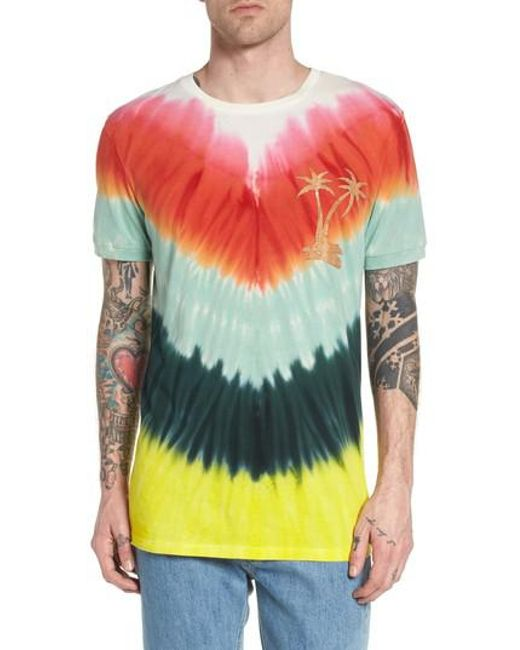 Antony Morato - Multicolor Tye Dye Graphic T-shirt for Men - Lyst