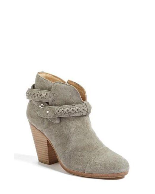 Rag & Bone | Multicolor 'harrow' Leather Boot | Lyst