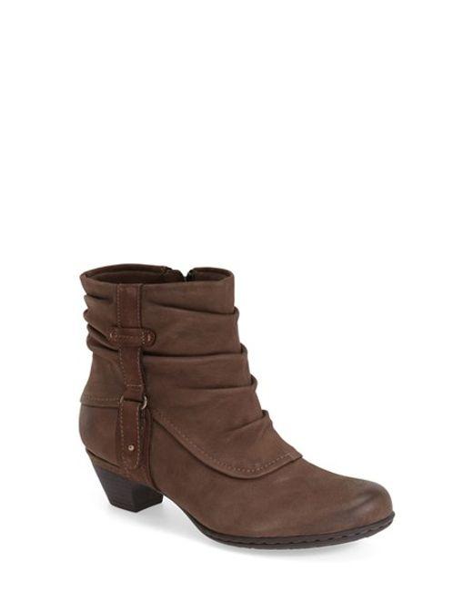 Cobb Hill | Brown 'alexandra' Boot | Lyst