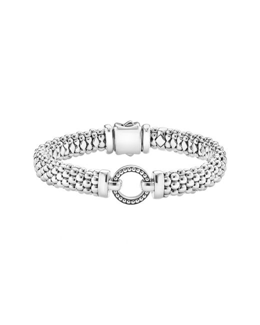 Lagos - Metallic 'enso' Caviar(tm) Rope Bracelet - Lyst