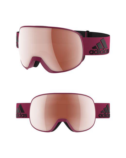 Adidas - Multicolor Progressor S Mirrored Spherical Snowsports Goggles - - Lyst