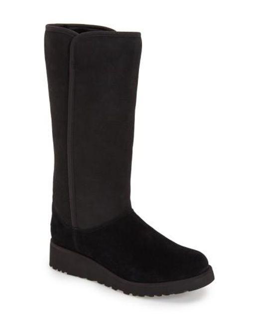 Ugg | Black Ugg 'kara - Classic Slim(tm)' Water Resistant Tall Boot | Lyst