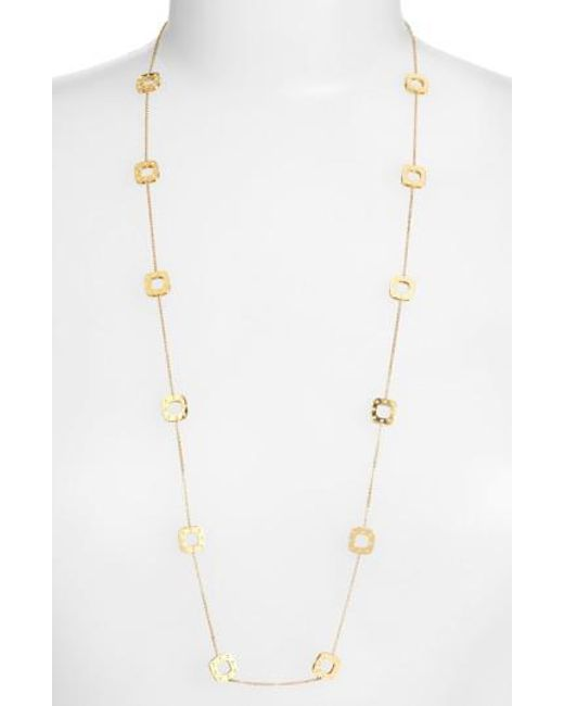 Roberto Coin - Metallic 'pois Moi' Long Station Necklace - Lyst