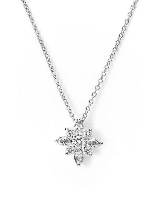Kwiat | Metallic 44ct Tw Diamond Star Pendant Necklace | Lyst