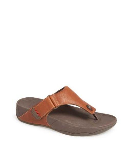 Fitflop | Brown (tm) 'trakk(tm) Ii' Sandal for Men | Lyst