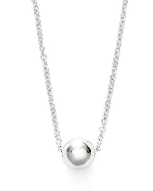 Bony Levy | Metallic Ball Pendant Necklace (limited Edition) (nordstrom Exclusive) | Lyst