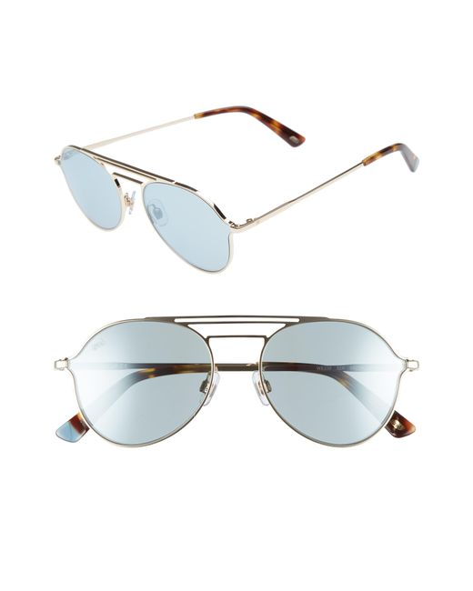 Web - Multicolor 56mm Aviator Sunglasses - Lyst