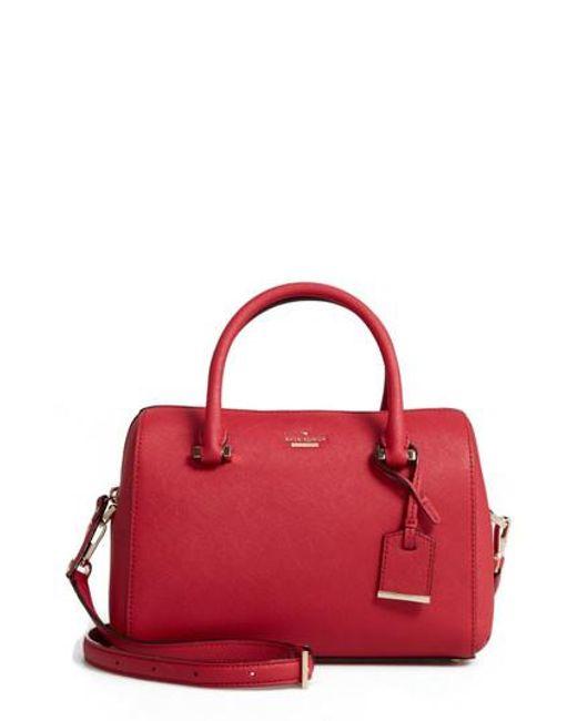 Kate Spade | Purple Cameron Street Large Lane Leather Satchel | Lyst