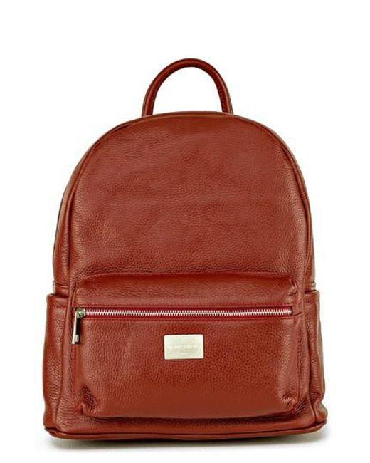 Montezemolo - Green Leather Backpack - Lyst