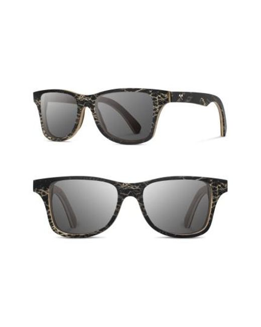 Shwood | Gray Canby 55mm Polarized Cactus & Wood Sunglasses - Walnut / Grey | Lyst