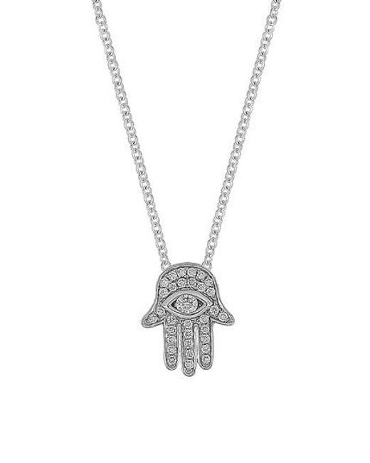 Bony levy hamsa diamond pendant necklace nordstrom exclusive in bony levy metallic hamsa diamond pendant necklace nordstrom exclusive lyst mozeypictures Gallery
