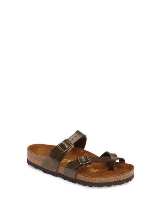 Birkenstock - Brown 'mayari' Birko-flor(tm) Sandal - Lyst