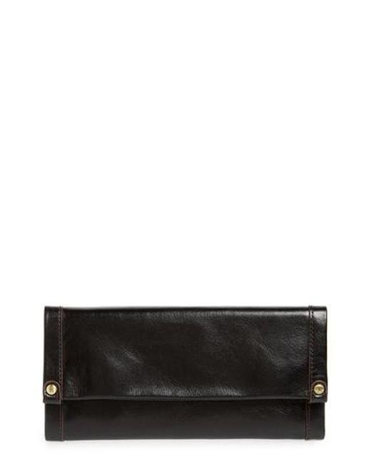 Hobo Fable (Black) Continental Wallet xMsxGbA