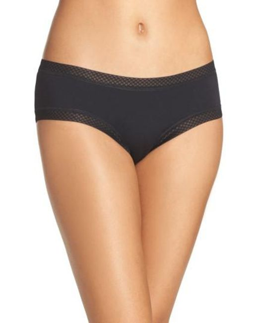 Honeydew Intimates | Black Riley Hipster Panty | Lyst