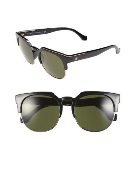 Balenciaga | Black 54mm Sunglasses | Lyst