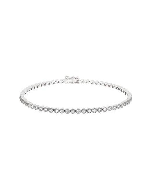 Bony Levy   Metallic Harlowe Diamond Tennis Bracelet (nordstrom Exclusive)   Lyst