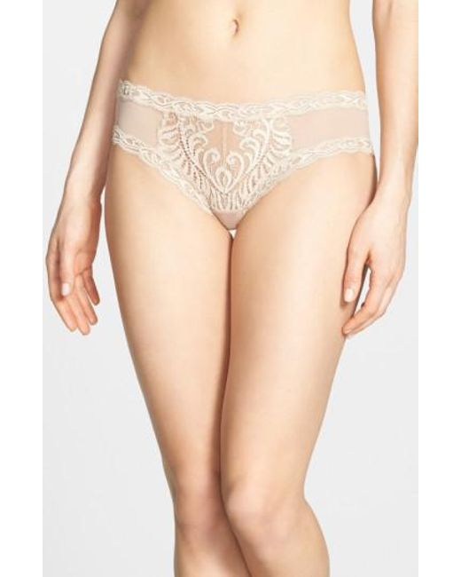 Natori | Natural Feathers Hipster Briefs | Lyst