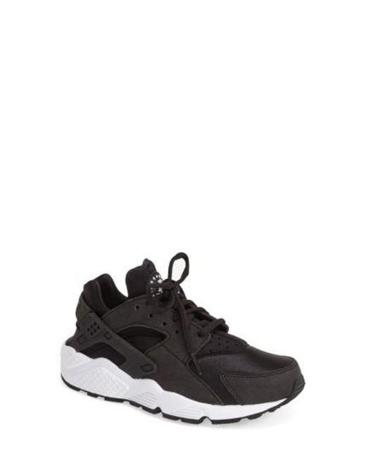 Nike - Black 'Air Huarache' Sneaker - Lyst
