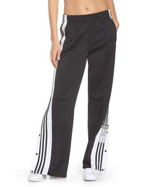 Adidas Originals - Black Adibreak Side-snap Track Pants - Lyst