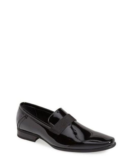 Calvin Klein - Black 'bernard' Venetian Loafer for Men - Lyst