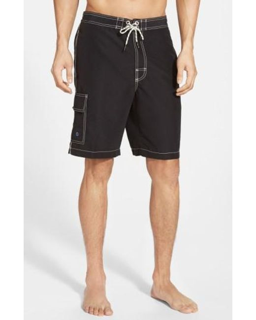 Tommy Bahama | Black 'baja Poolside' Board Shorts for Men | Lyst