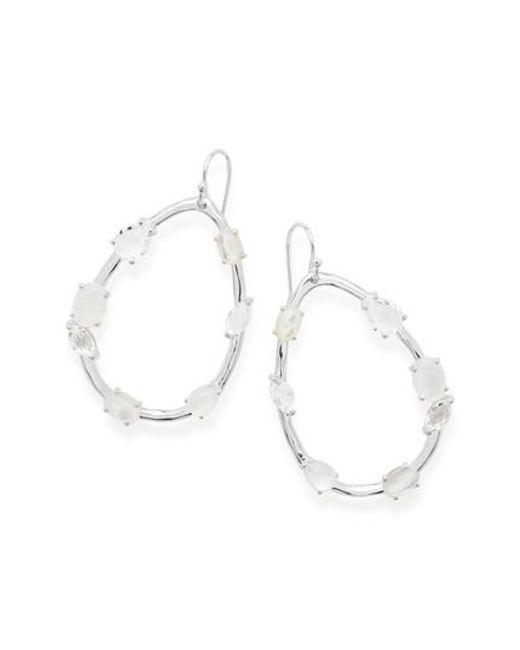 Ippolita - Blue Rock Candy Drop Earrings - Lyst