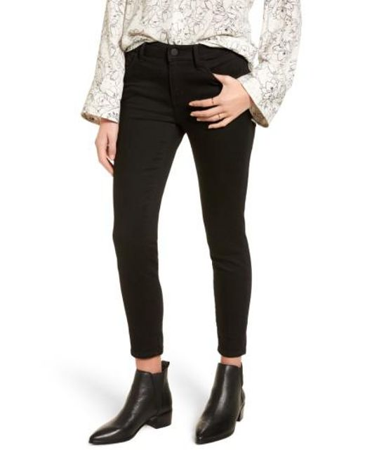 Treasure & Bond | Black Crop Skinny Jeans | Lyst