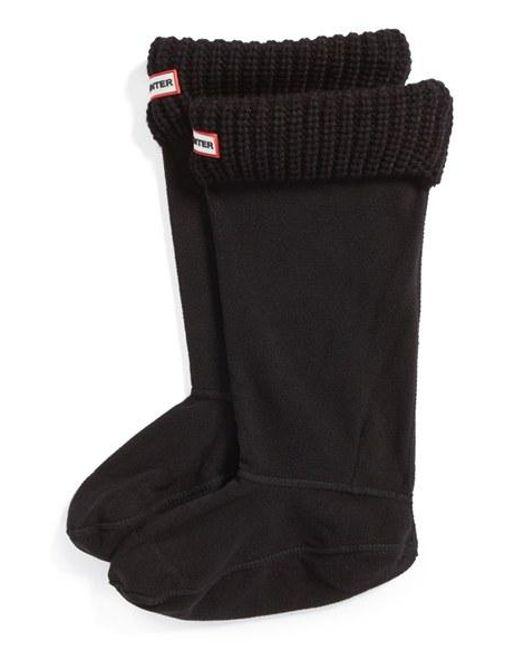 Hunter | Brown Tall Cardigan Knit Cuff Welly Boot Socks | Lyst