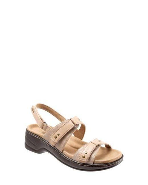 Trotters - Natural Newton Sandal - Lyst