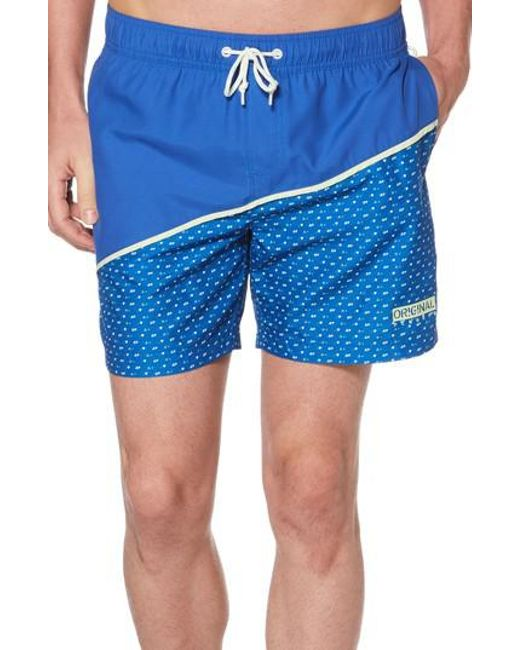 Release Dates Cheap Price Mens Palmer Swim Trunks Original Penguin Official Cheap Amazing Price Limited Edition Sale Online Sale Official Site 7nfq2ah
