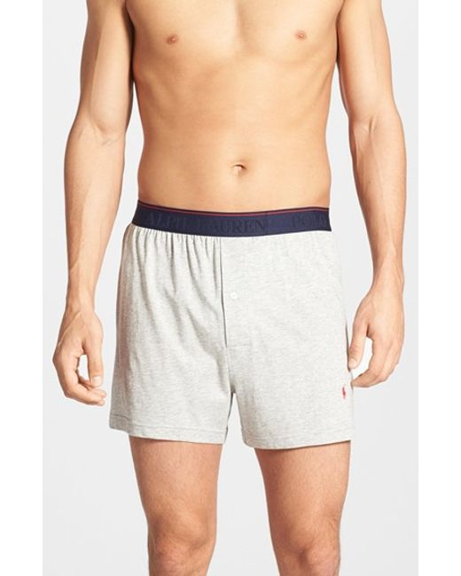Polo Ralph Lauren | Gray Supreme Comfort 2-pack Boxers, Grey for Men | Lyst