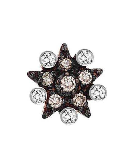 Kismet by Milka   Multicolor Diamond Stud Earring   Lyst