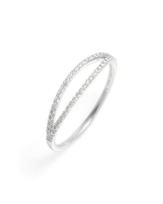 Bony Levy - Metallic Kiera Two-row Diamond Stack Ring (nordstrom Exclusive) - Lyst