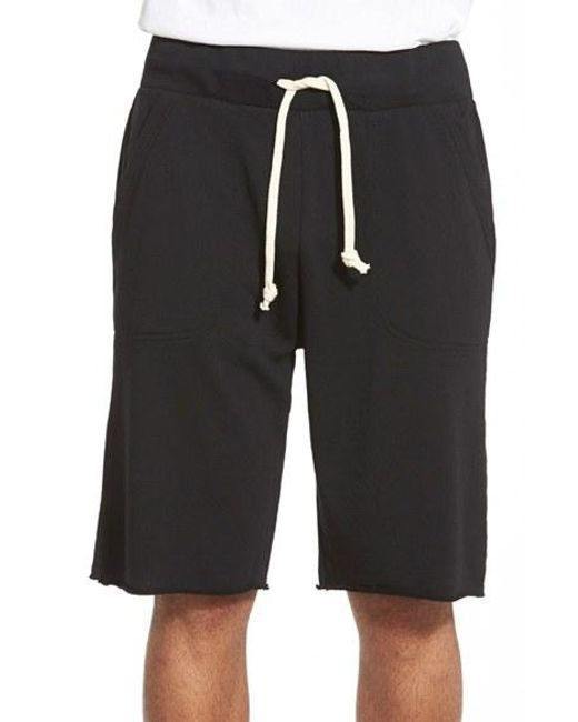 Alternative Apparel | Black 'victory' French Terry Shorts for Men | Lyst