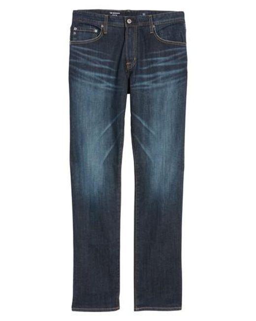 AG Jeans - Blue Graduate Slim Straight Leg Jeans for Men - Lyst