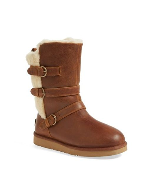 Ugg | Brown Ugg Australia 'becket' Water Resistant Boot | Lyst