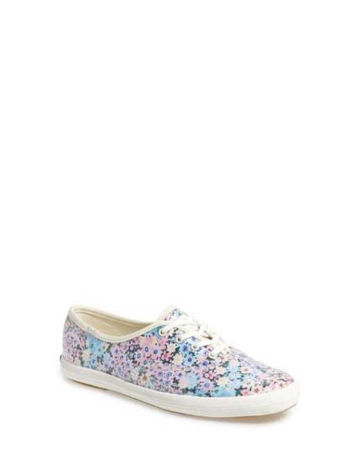 7004f4496ff2f Kate Spade - Multicolor Keds For Kate Spade New York Champion Daisy Garden  Glitter Sneaker -