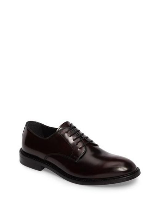 Kenneth Cole | Black Plain Toe Derby for Men | Lyst