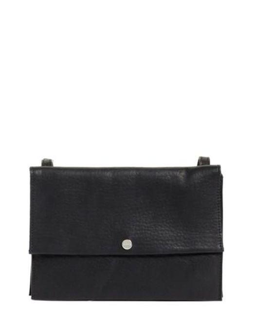 Shinola - Black Crossbody Leather Bag - - Lyst