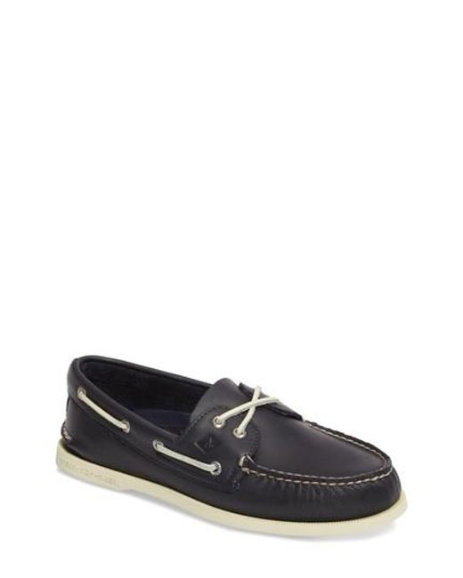 Sperry Top-Sider - Blue Authentic Original Boat Shoe for Men - Lyst