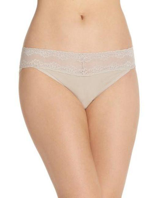 Natori | Natural Bliss Perfection Bikini | Lyst