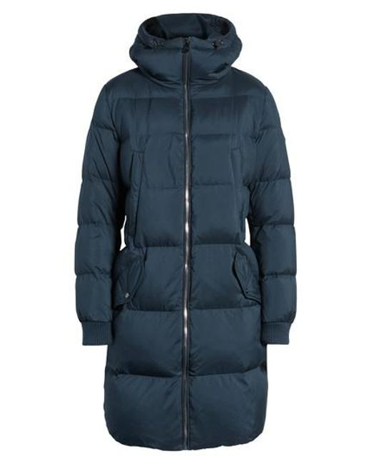 Lyst - Bernardo Quilted Down Jacket in Blue : quilted down jacket - Adamdwight.com