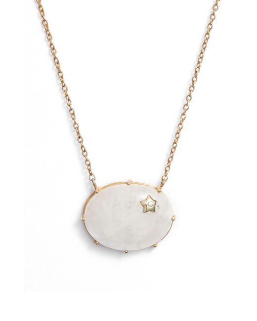 Argento Vivo - Metallic Star Moonstone Pendant Necklace - Lyst