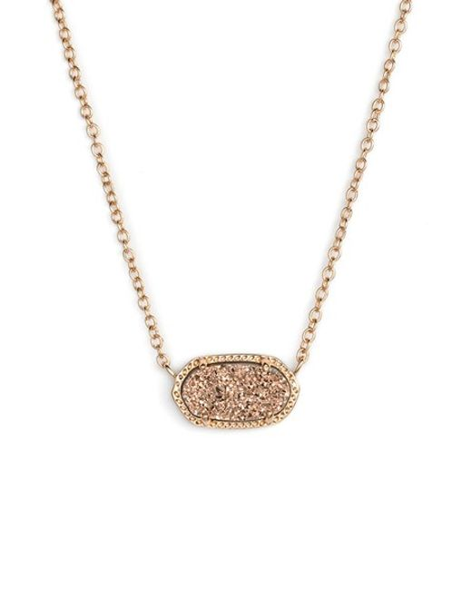 Kendra Scott | Pink 'elisa' Pendant Necklace | Lyst