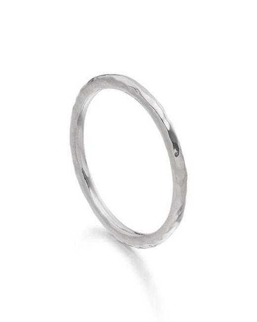 Monica Vinader - Metallic Siren Hammered Ring - Lyst