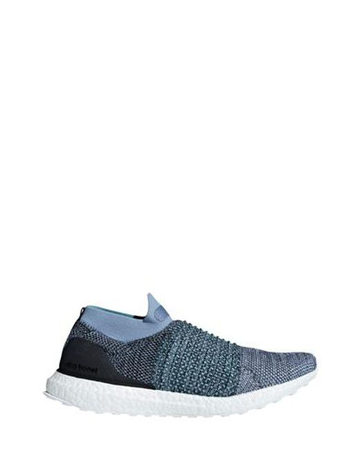 lyst adidas ultraboost laceless scarpa da corsa in blu per gli uomini.